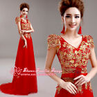 F188 Formal Evening Prom Party Dress Bride's/Bridesmaid Dress cocktail Ball gown