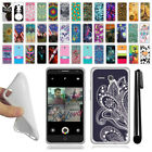 For Alcatel Onetouch Fierce XL 5054 TPU SILICONE Protective Case Cover + Pen
