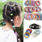 100pc Mix Girls Kids Hairband Elastic Ring Hair Ties Ponytail Holder Rubber Band