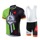 Leisure Summer Cycling jerseys Bicycle bib short pants short sleeved Jersey sets