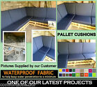 WATERPROOF CUSHIONS RATTAN CANE PALLET GARDEN FURNITURE MADE 2 MEASURE AVAILABLE