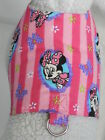 DOG CAT FERRET Custom Harness~Striped Pink MINNIE MOUSE Disney Theme Outfit