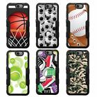 For Hydro View Reach NATURAL TUFF Hybrid Rubber Hard Case Black Black 9Colors