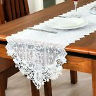 Lace Hollow Embroidery Table Runner Cloth European Style Wedding Home Decor Hot