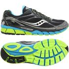 SAUCONY MEN'S RIDE 7 GTX RUNNING TRAINERS SHOES FITNESS SIZES 8-11 BLACK