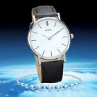 Casual Dress Watch Women Watches Retro Design Leather Analog Quartz Wrist Watch