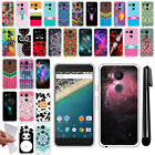 For LG Google Nexus 5X TPU SILICONE Rubber SKIN Soft Protective Case Cover + Pen
