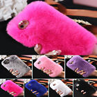 Fluffy Villi Plush Wool Bling Case Cover For iPhone 6/ 6S & 6 Plus/6S Plus Case