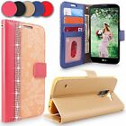 LG G Stylo 2 / Stylus 2 LS775 Leather Wallet Card Holder Flip Stand Case Cover