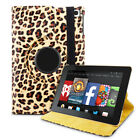 360 Rotating Leather Stand Case Cover For Amazon Kindle Fire