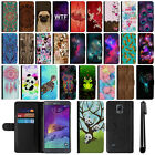 For Samsung Galaxy Note 4 N910 Flip PU Leather POUCH Case Phone Cover + Pen