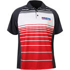 Throttle Threads Parts Unlimited Mens Polo Red