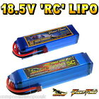 18.5V 4000 to 6000mAh 5S RC LiPo Battery up to 65C All Sizes + Custom Connector