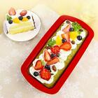 Silicone Rectangle Non Stick Bread Loaf Cake Bakeware Baking Pan Oven Mould MSYG