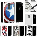 For LG V10| LG G4 Pro| Slim Fit Hard 2 Piece Case American Shield Hero