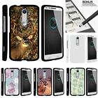 For Droid Turbo 2| X-Force| Slim Fit Hard 2 Piece Case Deer Hunting Leaves