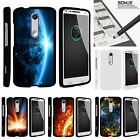 For Motorola Droid Turbo 2| Kinzie| X-Force| Slim Fit Hard 2 Piece Case Space
