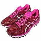 Asics Gel-Kayano 22 Red Pink Womens Running Shoes Trainers T597N-2601