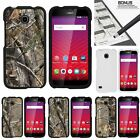 For Huawei Union| Slim Fit Hard 2 Piece Case Tree Bark Hunter Camouflage