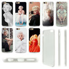 Sexy Marilyn Monroe Life PIcture Soft TPU Bumper Hard Case For iphone 5S 6S Plus