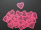 25 Cardstock Diecut MS Scalloped Lace Hearts, Scrapbooking, Cards, Decorations