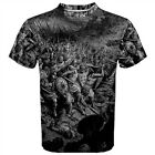 Knights Templar Crusades Battle Sublimated Sublimation T-Shirt S,M,L,XL,2XL