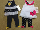 NEW RARE EDITIONS Girls Size 18 or 24 Months OUTFITS - U Pick Style NWT