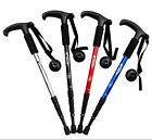 kabuda Folding Handle Cane Adjustable Retractable Aluminum Stick Hiking Walking