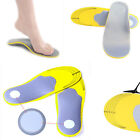 1Pair Unisex Women Men Sport Orthotic Shoes Insoles Insert High Arch Support Pad
