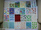 Hallmark Stickers Animals Frogs Bugs Teddy Bears Piano Zoo Cats Dogs Fish Music
