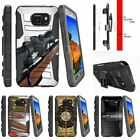 For Samsung Galaxy S7 Active G891A Rugged Holster Clip Stand Case Guns