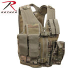 Kid's Airsoft Vest Cross Draw Tactical Holster MOLLE Compatible Tactical Vest