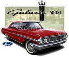 1964 Galaxie 500XL Classic Coupe Ford T-shirt  #7301 NWT automotive art