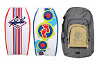 2 x Bodyboards + Bag Package Combo - 37 inch Adults Kids Boogie Board Set