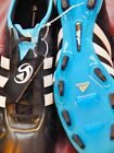 Soccer cleats shoes Adidas Adipure IV  $150+  black white 5.5 6.5 7.5 10.5 11 12