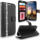 For Samsung Galaxy J7 New Luxury Leather Wallet Card Slots Flip Stand Case Cover