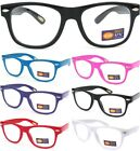 Внешний вид - SMALL KID CHILD SIZE CLEAR LENS GLASSES COLOR FRAME Nerd Hipster Boys Girls New
