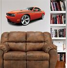 Challenger RT Muscle Car WALL GRAPHIC DECAL #9462 MAN CAVE GARAGE OFFICE