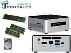 NEW Intel NUC NUC6i5SYH i5-6260U SSD 6th SSD + HDD + Memory Assembled & Tested