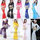 Brand New Sexy Yoga & Belly Dance Costume Set Top & Pants 9 Colors Free Shipping