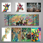 Canvas Wall Art Modern Home Decor Canvas Prints Picture Unframed-Giraffe 8 style