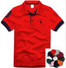 Mens 2013 Brand New Stylish Premium Basic Slim Fit Short T-Shirt(8 Colour)Sale