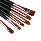 6pcs Pro Makeup Cosmetic Brushes Eyeshadow Eye Shadow Foundation Blending Brush