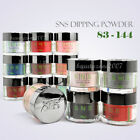 SNS Nail Color Dipping Powder No Liquid,No Primer,No UV Light Variety 1oz 83-144