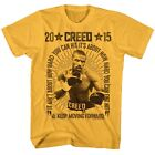 Creed Movie Vintage Boxing Rocky Adult T Shirt