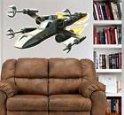 X-Wing Starfighter Art Scene WALL DECAL MURAL MAN CAVE star wars space