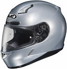 HJC CL-17 Silver Full Face Helmet Snell M2010 Rated (3X to 5XL DOT ONLY)