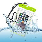 """Luminous Waterproof Phone Pouch Bag For Smasung Iphone HTC LG Phones Up To 5.8"""""""