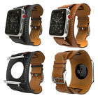 38mm/42mm Genuine Leather Strap Bracelet Style Watchband for Apple Watch iWatch