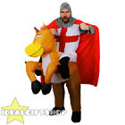 INFLATABLE HORSE WITH KNIGHT COSTUME NOVELTY FANCY DRESS STAG NIGHT ST GEORGE